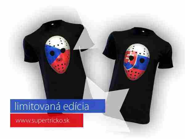 Vyhraj originálne Tričko Fan maska SK/CZ