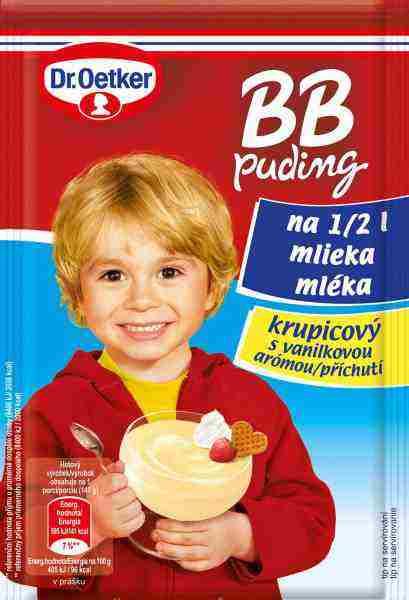 BB puding krupicový – jedinečná novinka s chuťou