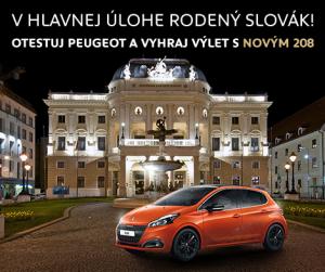 Chcete vyhrať výlet na Novom Peugeot 208