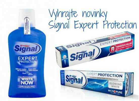 Hrajte o 3 balíčky nových produktov Signal Expert Protection