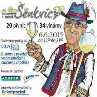Hrajte o 4 vstupenky na podujatie Za vínom do Šenkvíc!