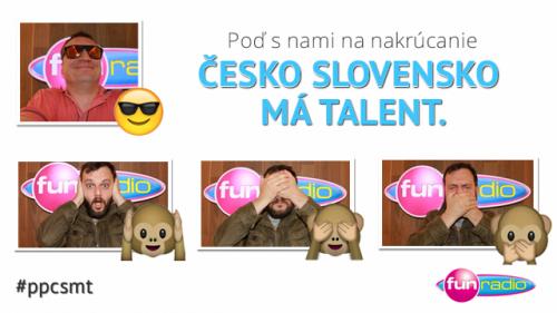 Poď nakrúcať Talent s Juniorom a Marcelom!