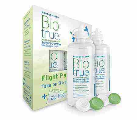 Súťaž o 3 balenia roztokov Biotrue na kontakné šošovky