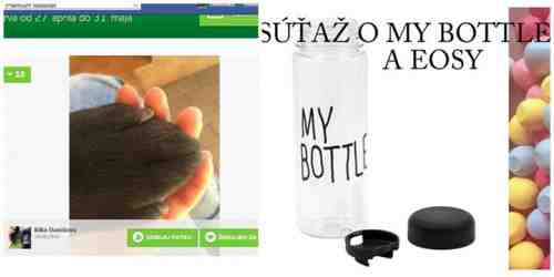 Súťaž o eosy ľubovoľných príchutí a fľašky My Bottle!