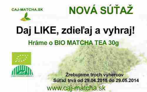 Súťaž s Caj-matcha.sk