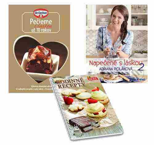 Súťažte o 3 kuchárske knižky