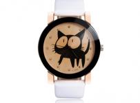 Soutěž o dámské hodinky s kočkou