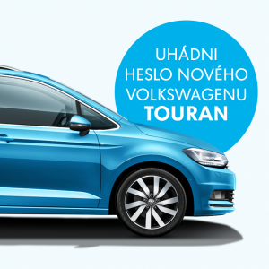Uhádni heslo nového Tourana a vyhraj skvelé ceny
