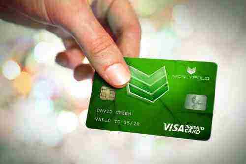 Výnimočná predplatená karta MoneyPolo VISA Card
