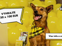 VYHRAJTE 50 X 100 EUR