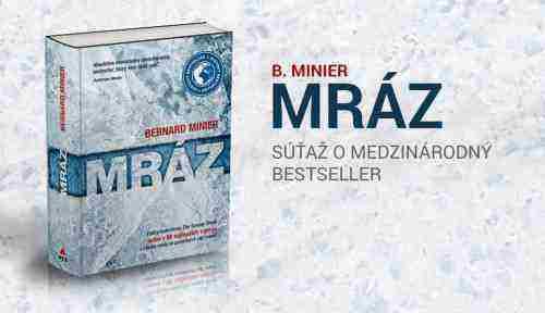 Vyhraj knihu Mráz. Súťaž o medzinárodný bestseller
