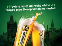 Vyhraj výlet do rodného mesta piva Staropramen – do Prahy