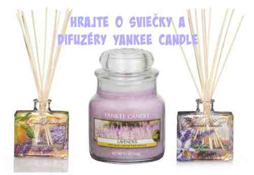 Vyhrajte 6 vôní od Yankee Candle s nádychom Provence