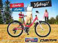 Získajte krásny detský bicykel značky DEMA