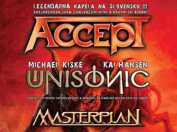 Skupina Masterplan odpáli v Banskej Bystrici jedinečnú metalovú šou! - súťaž