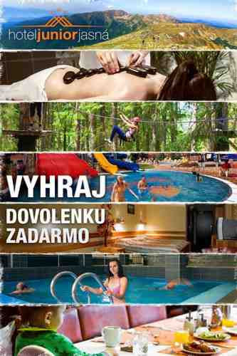Súťaž o letnú dovolenku v Hoteli JUNIOR*** Jasná