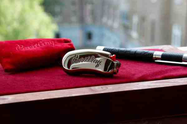 Súťaž o zapaľovač Breitling spolu s vrecúškom a perom