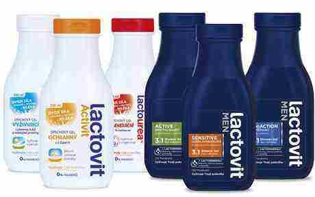 SOUTĚŽ o Lactovit – tělovou kosmetiku s mléčnými složkami