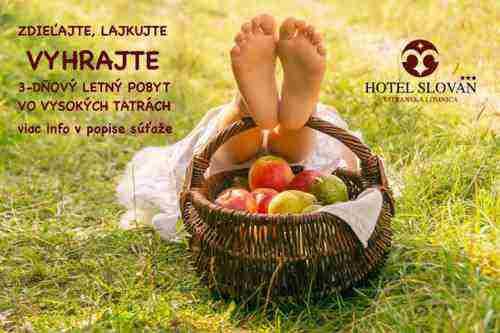 VYHRAJTE 3 DŇOVÝ LETNÝ POBYT V HOTELI SLOVAN*** TATRANSKÁ LOMNICA