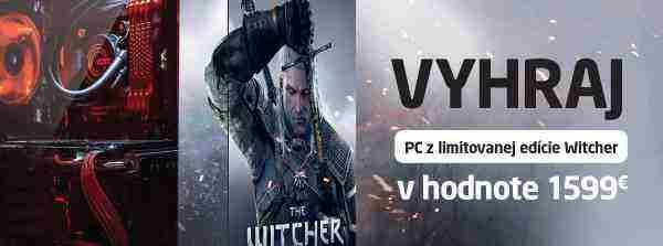 Vyhraj PC z limitovanej edície Witcher v hodnote 1599 Eur!