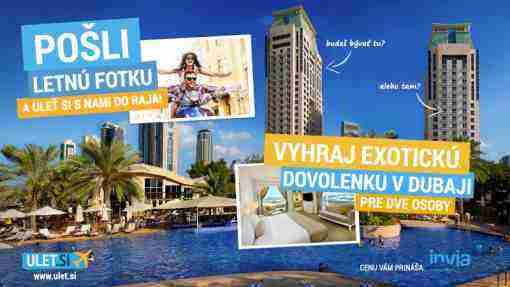 Vyhraj exotickú dovolenku v Dubaji