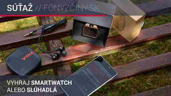 Vyhrajte štýlové smartwatch alebo špičkové slúchadlá