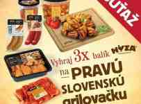 Vyhrajte balík HYZA gril výrobkov pre Pravú slovenskú grilovačku