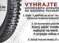 Vyhrajte univerzálny plášť Vredestein BOBCAT