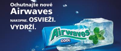 Airwaves Cool s dlhotrvajúcim chladivým efektom