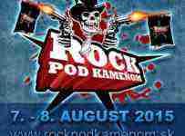 Súťaž o lístky na festival ROCK POD KAMEŇOM