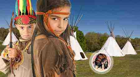 Súťaž o letný detský indiánsky tábor Na prérie a do lesov!