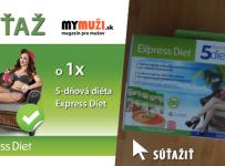 Súťaž s MYmuži.sk o 1x 5-dňová diéta Express Diet