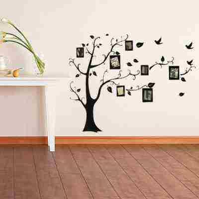 Soutěž o nálepku na zeď v podobě stromu s fotorámečky
