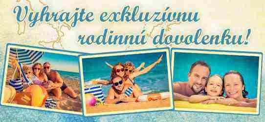 Vyhrajte rodinnú dovolenku v hodnote až 2 500€