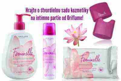 Hrajte o štvordielnu sadu kozmetiky na intímne partie od Oriflame