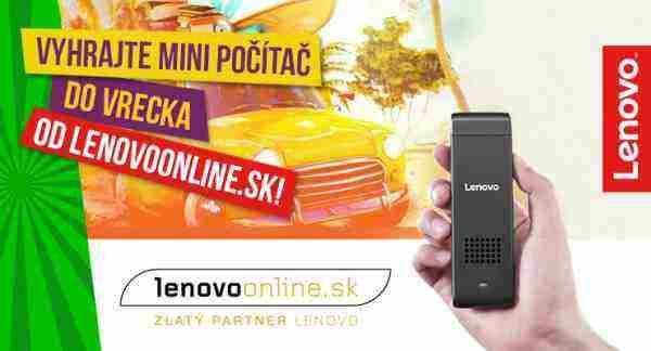 Súťaž o vreckový počítač Lenovo IdeaCentre Stick 300