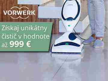 Vyhraj čistič KOBOLD v cene 999€