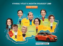 Vyhraj cestu do divadla na novom Peugeot 208