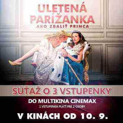 Súťaž o vstupenky do kina