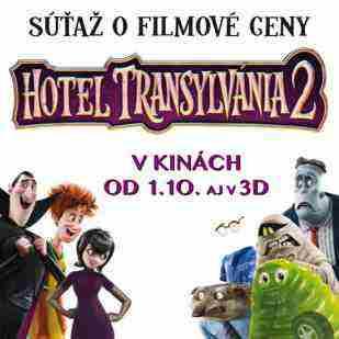 Súťaž s rozprávkou Hotel Transylvánia 2