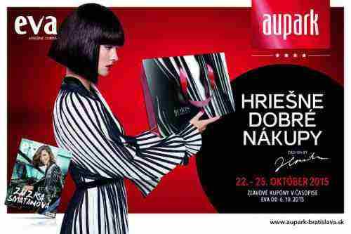 Súťažte s Auparkom v Bratislave o hriešne dobré ceny