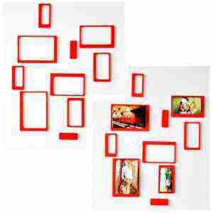 Soutěž o sadu 5 ks nalepovacích 3D rámečků na zeď