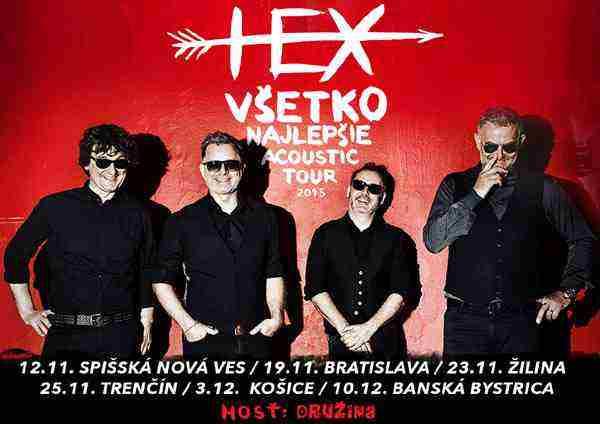 TS Skupina HEX ide na turné, tentokrát aj na ľudovú nôtu!