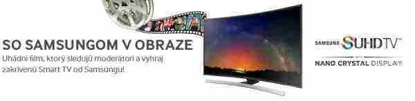 Vyhraj skvelý Smart TV Samsung SUHD