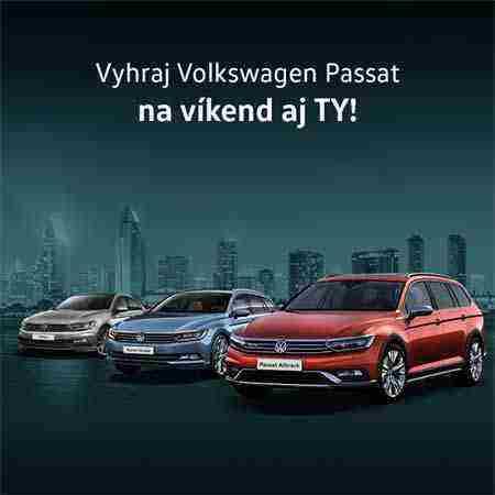 Vyhraj super ceny od Volkswagen!