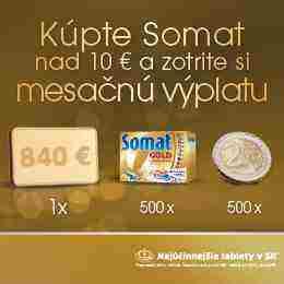 Zapoj sa do súťaže o mesačnú výplatu a ďalšie zlaté ceny so Somatom