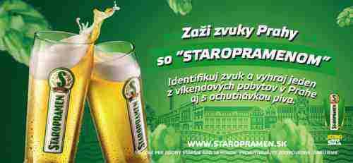 Zvuky Prahy so STAROPRAMENOM