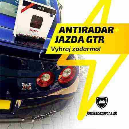 Vyhraj Antiradar Escort Redline a jazdu GTR v hodnote 699€