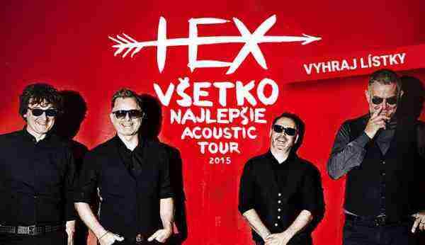 Hex – Všetko najlepšie acoustic tour 2015 – vyhraj lístky