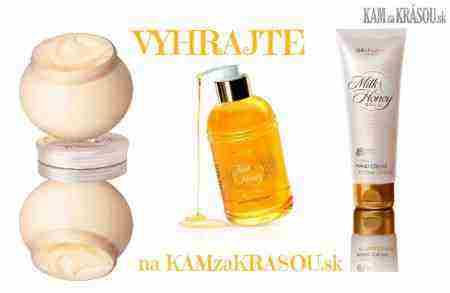 Hrajte o 3 trojdielne sady luxusnej kozmetiky Milk & Honey od Oriflame